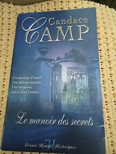 HARLEQUIN  HISTORIQUE GRANDS ROMANS N° 12 - CANDACE CAMP - LE MANOIR DES SECRETS