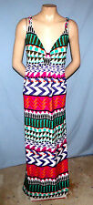 Attention Geo Print Dress Size XLarge Cruise or Casual Stretchable Jersey-Like F