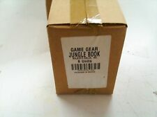 NEW SEALED MASTER CASE OF 6 The Jungle Book Sega Game Gear Disney  WHOLESALE LOT