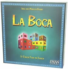 La Boca [Board Game, Z-Man Games Exclusive, 3-6 Players, 40 Min, Ages 8+] NEW