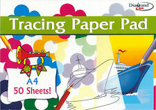 A4 Size Tracing Paper Pad,Copying Craft Pad Creative, 50 Sheets Centrum-CPG/061