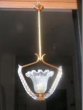 Lampadario 1  luce baroier Murano
