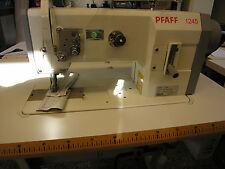 Pfaff Industrie Nähmaschine 1245 mit Servo Stop Nadelpositionierung 3FachTransp.