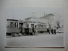 AUST161 - 1957 VIENNA CITY TRAMWAYS - TRAM PHOTO - AUSTRIA Österreich