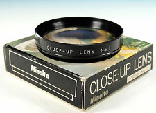 Minolta 55E Close-up lens No.1 / Nahlinse No.1 - 203206
