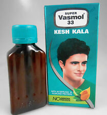 NEW Super Vasmol 33 Naturally Black 50ml Kesh Kala Hair Color Dye USA SELLER