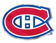 Montreal Canadiens Aluminum Metal Auto Emblem [NEW] NHL Car Decal Sticker CDG