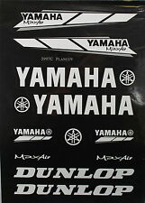 YAMAHA Decal Sticker ATV Motorcycle Dirt Bike CRF TTR YZF ATC BLACK P DE23