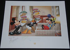 DON DUCKY WILLIAMS  DISNEY CRUISE LINE LITHOGRAPH 100% AUTHENTIC