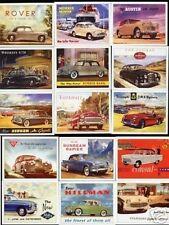 Classic British Cars Trading Card Set Brochures Triumph