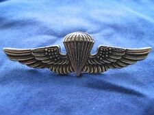 Parachutist Badge - Military - Silver - Pin - Air Force Army Navy Metals - NEW