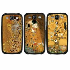 Gold Fine Art by Klimt for Samsung Galaxy S3 Case Cover 3 for the price of 1