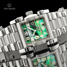 Reactor Women's Ion L.E. Abalone Dial Bracelet Watch w/ Double-curved crystal