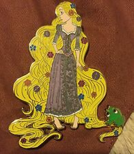 Art Of Rapunzel Disney Fantasy Pin LE 75 Tangled With Pascal Glow In The Dark