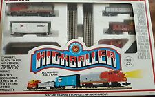 SANTA FE Bachmann Highballer N-Scale train set 24300 Tested RUNS w/ Box Free S/H
