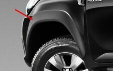 GENUINE BLACK FENDER FLARES WHEEL ARCH FOR TOYOTA HILUX 2016 DOUBLE SMART CAB