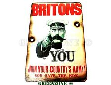 Britons We Need You Army, Airsoft, Military, Boys Novelty Wall Wooden Sign