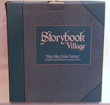 """DEPT 56 STORYBOOK VILLAGE """"MARY, MARY QUITE CONTRARY FLORAL SHOPPE"""" *NIB*"""