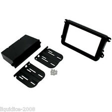CT24VW09 VOLKSWAGEN SAGITAR 2005 to 2011 BLACK DOUBLE DIN FASCIA ADAPTER KIT