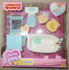 NIB Fisher Price Loving Family Bathroom 2002