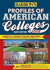 Profiles of American Colleges by Barron's College Division -Paperback