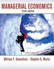 Managerial Economics by Samuelson, William F., Marks, Stephen G.