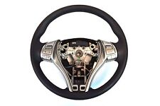 Genuine OEM Nissan Altima Black Vinyl Steering Wheel With Buttons 48430 3TA1A 7P