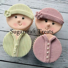 Knitting Pattern Embossing Baby Silicone Mat Mould Sugarcraft Cake Decorating