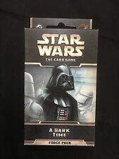 Star Wars A Dark Time Force Pack  The Card Game -NEW TF