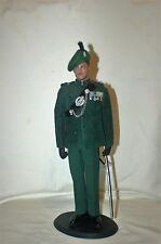 1/6 Post WW2 British 1960's Royal Ulster Rifles Lt Colonel No1 dress uniform lot