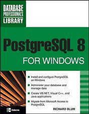 PostgreSQL 8 for Windows (Database Professional's Library)-ExLibrary