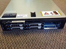 DELL POWEREDGE R710 SERVER  QUAD CORE 4GB DUAL POWER SUPPLY 300gb