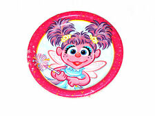 ~ABBY CADABBY ~ 8- SMALL PAPER DESSERT  PLATES  BIRTHDAY-CHILD   PARTY SUPPLIES