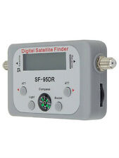 Digital Satellite SIGNAL FINDER CON LCD MISURATORE DISPLAY BUSSOLA