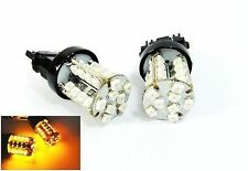 3157 3156 Amber 40 SMD LED Front Turn Signal Light For Ford F-150 Mustang Focus