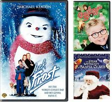Jack Frost (DVD Deluxe) + 2 Movies, A Christmas Story / The Year without Sa. NEW