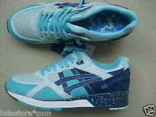 "UBIQ x ASICS Gel Lyte Speed 44 ""Cool Breeze"" 2015 Aqua/Sky Blue-Navy"