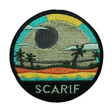 "Rogue One Planet ""Scarif"" Iron-On Patch Star Wars Fan Memorabilia Craft Applique"