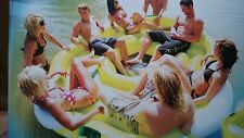 inflatable water ski tube party island 8 person