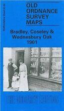 MAP OF BRADLEY, COSELEY & WEDNESBURY OAK 1901