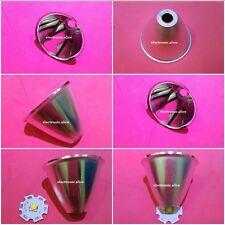 Aluminum Reflector Cup 5-10° For Cree XR-E/XM-L/XM-L2 Q5 T6 LED Flashlight 8PCS