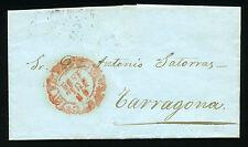 ESPAÑA CARTA VALENCIA A TARRAGONA 1851
