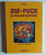 Greg, ZIG et PUCE, LE VOLEUR FANTOME. Collection BéDingue, Le Lombard 1984