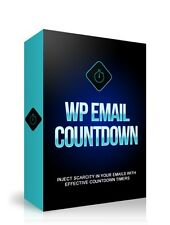 Wordpress Email Countdown Timers - WP Plugin on 1 CD