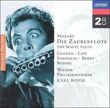 Mozart: Die Zauberflote / Karl Bohm ~ NEW 2CD Set (1996, London) The Magic Flute