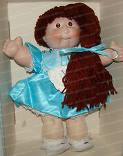 4887 - Cabbage Patch Porcelain, Signed Doll Collection (Winter, 1985)