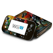Skin Decal Cover for Nintendo Wii U Console & GamePad - Legend of Zelda Ocarina