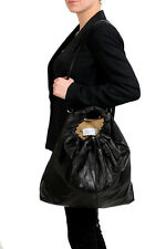 Maison Margiela 11 Women's Black Leather Handbag Shoulder Bag