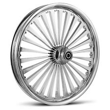 "DNA ""SS2"" CHROME FORGED BILLET 21"" X 3.25"" FRONT WHEEL HARLEY TOURING"