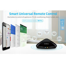 Broadlink RM-Pro Home Automation WiFi IR RF Appliance Remote Controller Black US